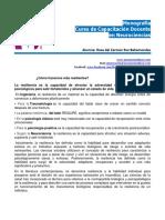 Como Hacemos Mas Resilientes Monografia Neurociencias Rosa.del.Carmen.ruz.Bahamondes