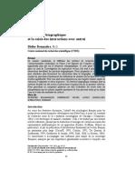 L'entretien biographique et la saisie des interactions avec autrui - Demazière (2011)