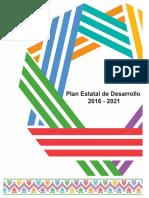 Plan Estatal de Desarrollo 2016 2021