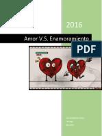 Diferencia entre Amor y Enamoramiento