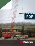 Construction Mini Catalog