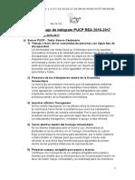 Plan de Trabajo de Intégrate PUCP REA 2016