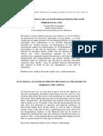 2005 - Analisis Funcional de Las Estrategias Psicologica de Terror en El Cine - Estudios de Psicologia