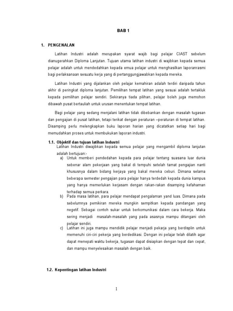 Laporan Latihan Industri Sistem Komputer