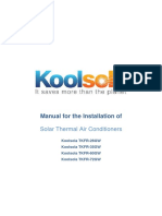 Koolsola Operating Instructions