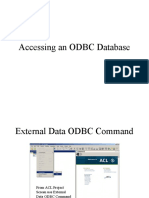 ACL ODBC Database 1 of 2
