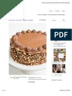 Ferrero Rocher Cake Recipe | Mom's Dish