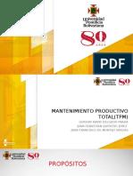 Mantenimiento Productvo Total