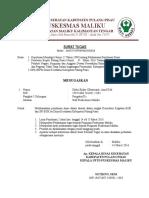 Surat Tugas Konsultasi Bok