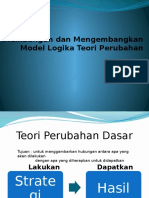 Building and Improving Theory of Change of Logic Models