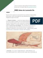 10 Mejore Ideas de Leonardo Da Vinci