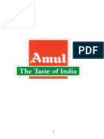 Amul chocolate Project report.doc