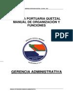 Funciones de Gerencia Administrativa