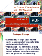 Cadaver Organ Donation & Transplantation in Asian Countries the Way Ahead