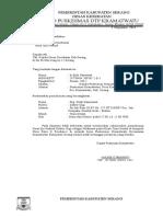 Surat Rekomendasi Klinik Dll 2015