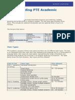 Understanding PTE Academic