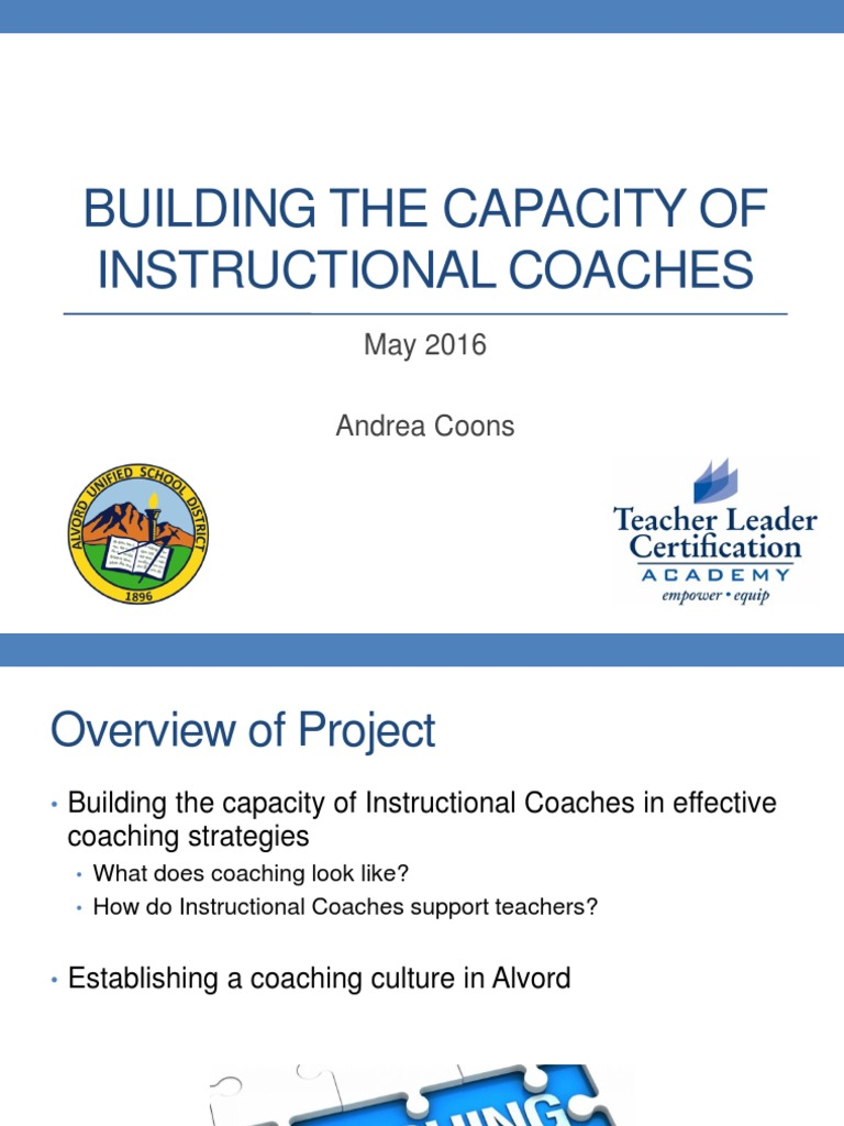 Tlca Capstone Project 2016 Andrea Coons Learning Teachers