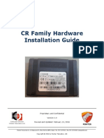 CR Family Hardware Installation Guide