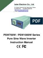 700W1000W User Manual
