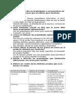 Cuestionario Fundicion