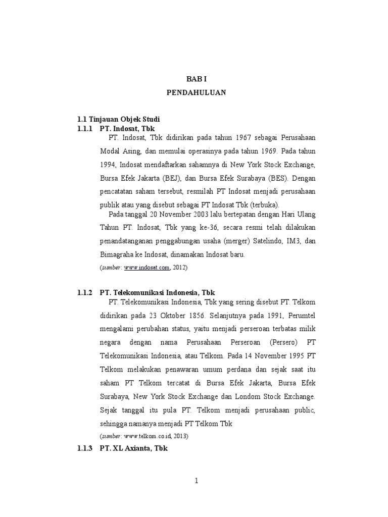 Analisis Kinerja Keuangan Dengan Metode Eva Fva Dan Mva Studi Kasus Operator Telekomunikasi Yang Terdaftar Di Bei Pada 2009 2013