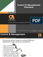 Control and Management Presentation
