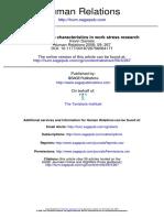 Rethinking job characteristics in work stress research