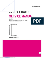 LG - GC 151 Manual