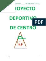Proyecto Deportivo de Centro 15-16