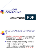 1 What a Carbon Compound Is