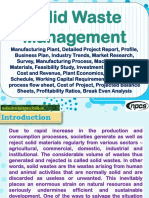 Solid Waste Management - Manufacturing Plant, Detailed Project Report, Profile, Business Plan, Industry Trends, Market Research, Survey, Manufacturing Process, Machinery, Raw Materials, Feasibility Study, Investment Opportunities, Cost and Revenue, Plant Economics, Production Schedule, Working Capital Requirement, plant layout, process flow sheet, Cost of Project, Projected Balance Sheets, Profitability Ratios, Break Even Analysis