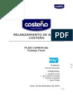 Plan Comercial - Arroz costeño