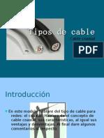 Tipos de Cable