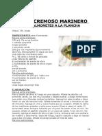 Arroz Cremoso Marinero Con Salmonetes a La Plancha