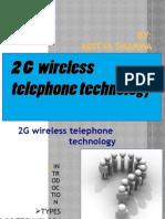 2G Wireless Telephone Technology