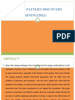 Effective Pattern Discovery for Text Mining(2012)