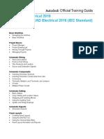 Autodesk AutoCAD Electrical Essentials2016