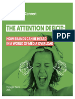 Ipsos Connect Attention Deficit