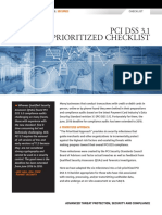 PCI DSS 3.1 Prioritized Checklist