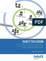 InfoQ Do Better Scrum Minibook