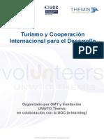 Turismo y Cooperacion Internacional Para El Desarrollo