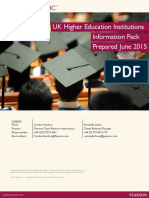 PTE Academic HEI Brochure June 2015