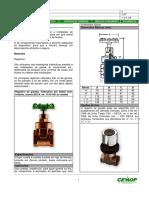 Registro e Valvula Metalico