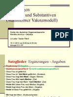 06 Engel 2004 Ergaenzungsklassen Verbale Nominale 2012-13 Petric