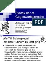 04 NSS-Petric2012 Aufgaben-Verbstellungen Und Topofelder