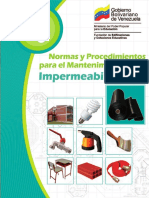 Manual de Mantenimiento Impermeabilizacion