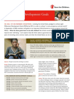Millennium Development Goal #2 - Achieve Universal Primary Education, September 2005
