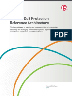 The f5 Ddos Protection Reference Architecture