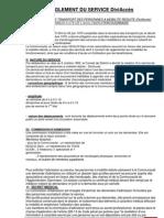 Règlement Diviaccès Aout 2009