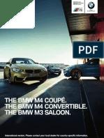 BMW M3 M4 Catalogue